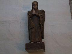 Anděl modlící se - -30 cm