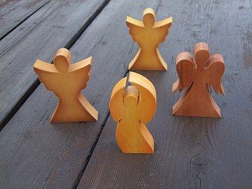 anděl stojící  - 10 cm - 2