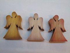 Anděl stojící - 15 cm