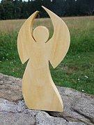 anděl stojící II - 10 cm