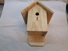 Budka pro ptáčky natur