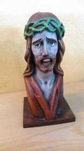 Busta Ježíš - 1