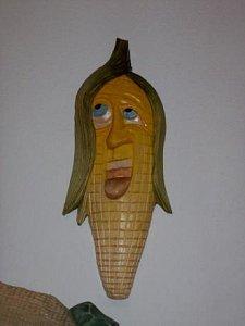 Dekorace na zeď - Kukuřice - 1