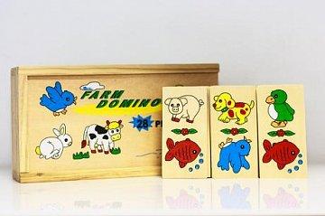 Dřevěné domino - 1