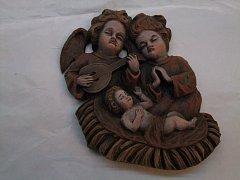 Dva andělé s ježíškem