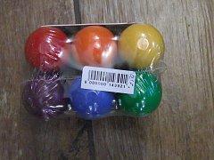 Hlavolam kuličky barevné - 3 cm