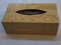 Krabička na kapesníky natur