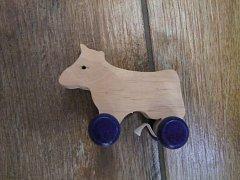 Kráva (veverka) na kolečkách - 9 cm
