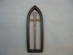 Kříž okénko - 26 cm