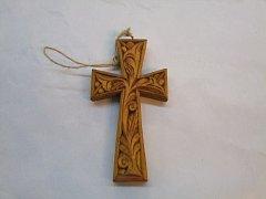 Kříž ozdobný - 10 cm