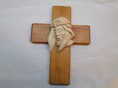 Kříž s Ježíšem - 28 cm
