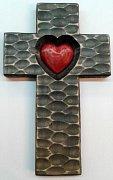 Kříž se srdcem