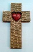 Kříž srdce světlé