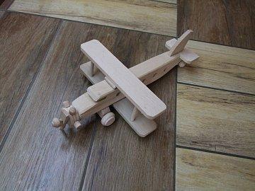 Letadlo dvouplošník - 1