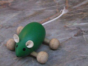Myš na kolečkách - 1