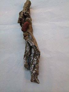 Obličej ve dřevě - 36 cm - 1