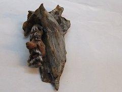 Obličej ve dřevě - 41 cm
