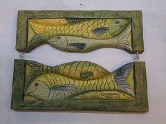 Obraz s rybami