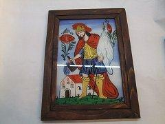 Obraz se sv. Florián patron hasičů