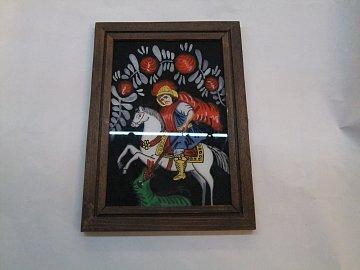 Obraz se svatým na koni - 1