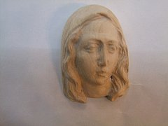 Obrázek panny Marie - 6 cm