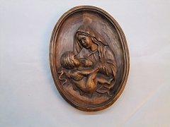 Obrázek Panny Marie a Ježíška