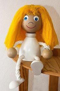 Panenka s vlasy - 1