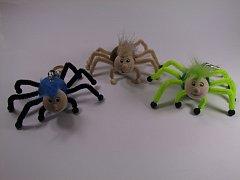Pavouk na pružině