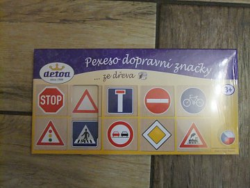 Pexeso dopravní značky - 1