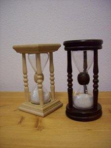 Přesýpací hodiny hranaté - 13 cm - 1