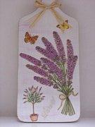 Prkénko dekorace XIII