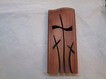 Prořez. 3 kříže stojící - 15 cm - 1