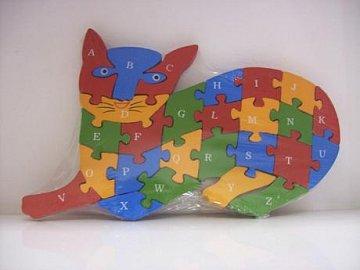 Puzzle kočka - 1