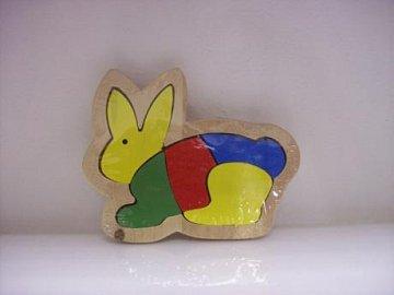 Puzzle zajíc - 1