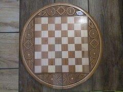 Šachy s  kruhovou šachovnicí