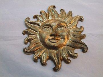Slunce zlaté -30 cm  - 1