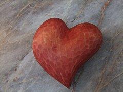 Srdce 8 cm x 8 cm