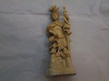 Svatý Florián natur - 30 cm - 1