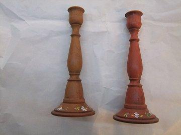 Svícen kytka - 21 cm - 1