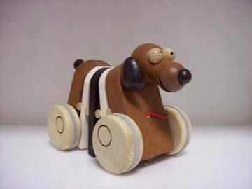 Tahací hračka - pes - 1