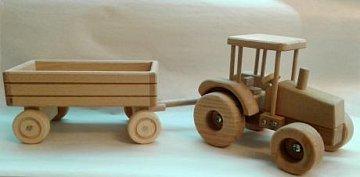 Traktor s valníkem - 1