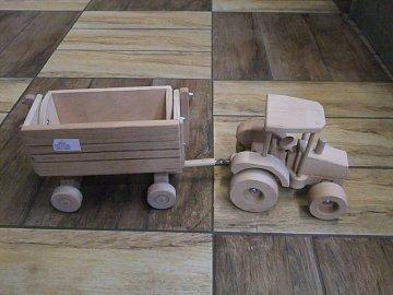 Traktor s vozem - 1