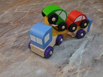 Truck s autíčky - 1