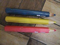 Tužka barevná dekorace