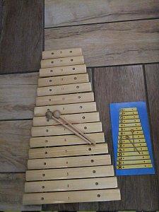 Xylofon natur Zdík. - 43 cm - 1