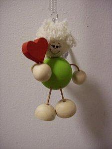 Závěsná hračka - Anděl zelený - 1