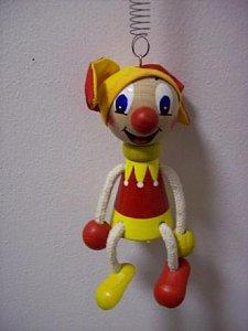 Závěsná hračka - Kašpárek - 1