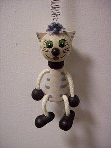 Závěsná hračka - Kočička - 1