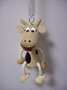 Závěsná hračka - Kráva - 1