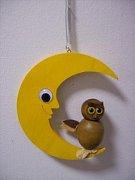 Závěsná hračka - Měsíc